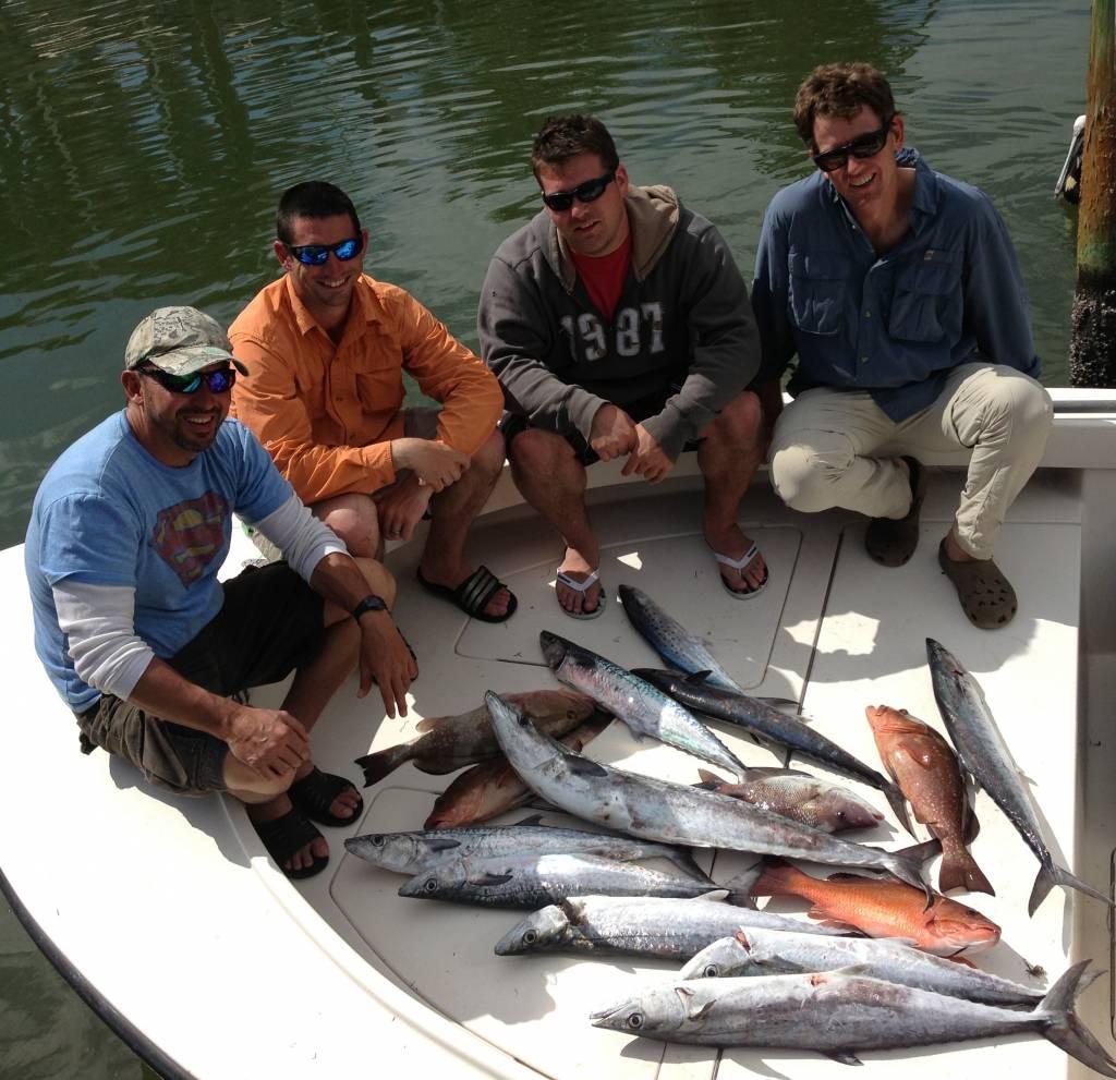 Tampa offshore fishing captain matt fishing charters for Tampa deep sea fishing